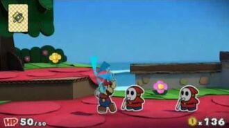 Paper Mario Color Splash Make a Splash Now Available Wii U 30 US TV Commercial