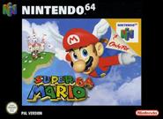 Super Mario 64 jaquette eur