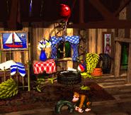 Donkey Kong's Treehouse - Donkey Kong Country
