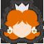 Icône Daisy blanc Ultimate