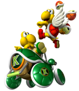 Koopa Troopa and Paratroopa - MKDD
