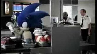 Mario And Sonic at The Olympic Winter Games Commercial 1