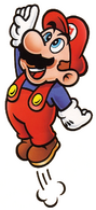 SMB Mario Jumping