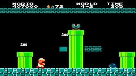 Super Mario Bros. - World 4-2