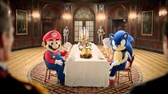 """Mario & Sonic at the London 2012 Olympic Games TV Commercial """"Sonic Ending"""""""