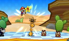 Batalla paper Mario 3DS