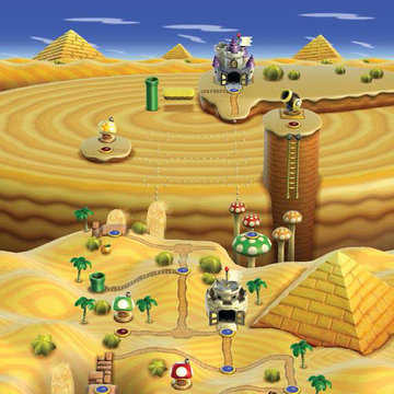 Another New Super Mario Bros. Wii - World 8 (100%, Multiplayer ...