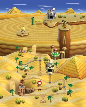 World 2 New Super Mario Bros Wii Mariowiki Fandom