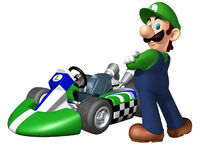 MKW Artwork Luigi