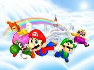 Mario's Rainbow Castle (Mario Party Background)