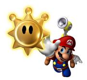 Mario Shine sprite