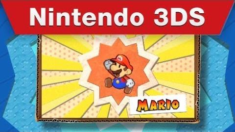 Nintendo 3DS - Paper Mario Sticker Star E3 Trailer