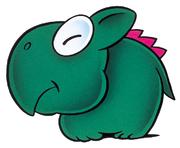 SMW Art - Dino Rhino