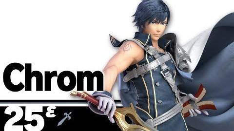25ᵋ Chrom – Super Smash Bros