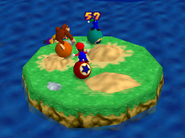 Bumper Balls Level 3 - Mario Party 2