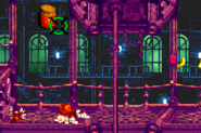 DKC3GBA Screenshot Alligator-Attentat