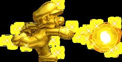 Golden Mario Artwork - New Super Mario Bros. 2