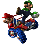 Mario y Luigi MKDD 3