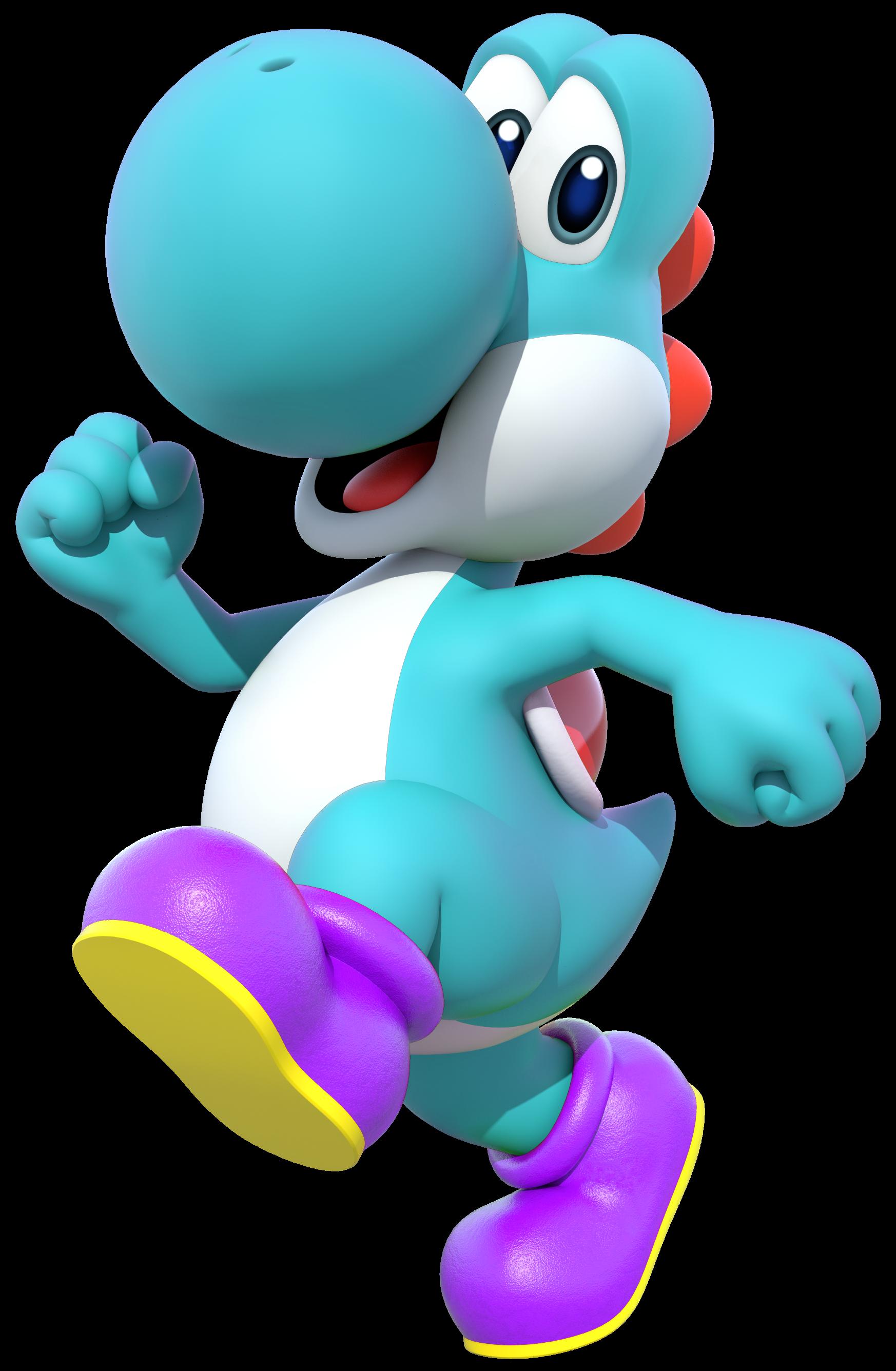 Hellblauer Yoshi Mariowiki Fandom Powered By Wikia