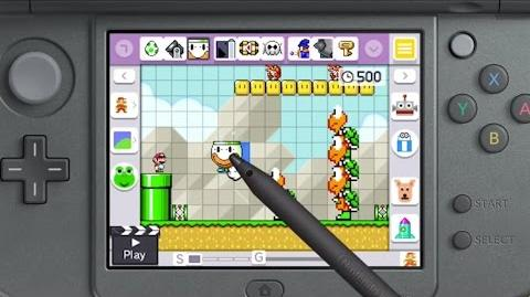 Mario Maker 3DS Trailer