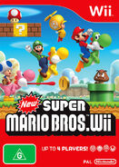 New Super Mario Bros Wii Caratula