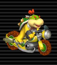 Nitrocyclette Bowser Jr