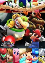 Poster Bowser Jr Smash
