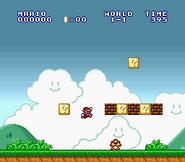 SMB World 1-1 SNES
