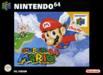 Super Mario 64 PAL обложка