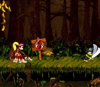 DKC2 Screenshot Krockhead-Kraxler