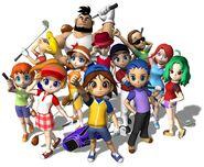 MGAT personajes