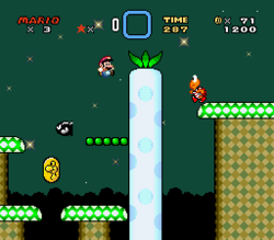 SMW Screenshot Vanille-Dom 4