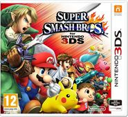 Super Smash Bros for Nintendo 3DS Europa boxart