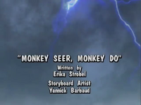 Monkey Seer, Monkey Do