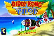 Main Menu - Options - Diddy Kong Pilot (2001)
