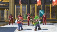 Mario & Luigi avec Pauline