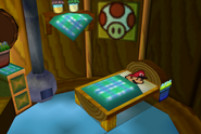 Mario in a Toad House (Paper Mario)