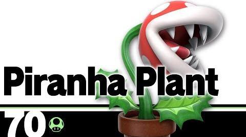 70- Piranha Plant – Super Smash Bros