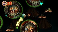 DKCR Screenshot 5-B Flucht vor Mangoruby (Nach 1 Treffer)