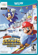 Mario and Sonic at the Sochi 2014 Winter Olympic Games