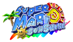 Super Mario Sunshine logo