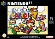 Verpackung Paper Mario