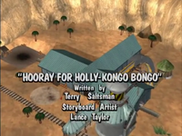 Hooray for Holly-Kongo Bongo