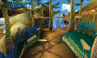 MK7 Screenshot GCN Dinodino-Dschungel 2