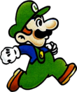 Super Mario Bros 2 - Luigi (artwork)