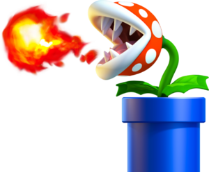 Venus Fire Trap, New Super Mario Bros. U