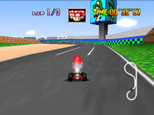Autodrome Luigi - Plan