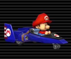 Blue Falcon (Mario Kart Wii)
