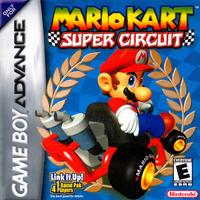 Mario Kart Super Circuit - North American Boxart