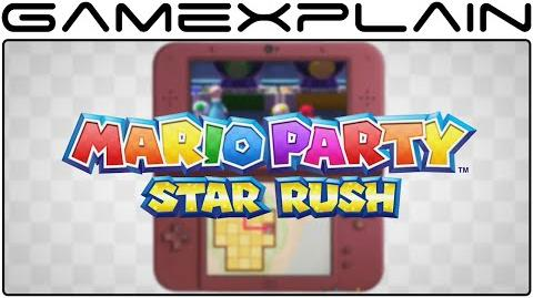 Mario Party Star Rush - Game Modes Trailer